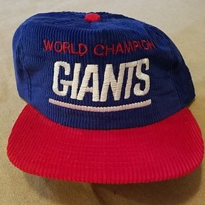 NWOT Vintage Giants World Champs New Era Snapback